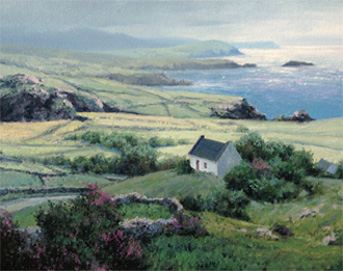 Michael Godfrey Biography And Show Paintings Travels Here