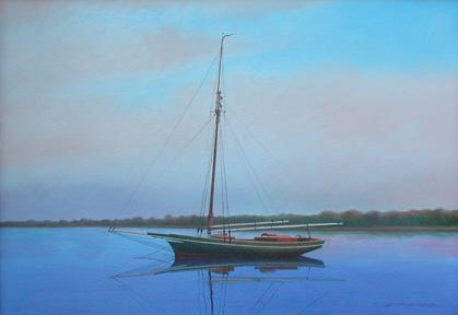Painting of Friendship sloop