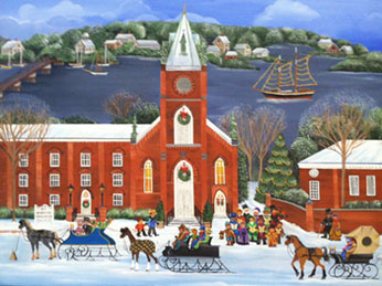 Carol Dyer Annapolis Christmas Cards And Notecards
