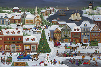 Artworks Christmas Cards.Carol Dyer Paintings Prints And Notecards And Christmas Cards
