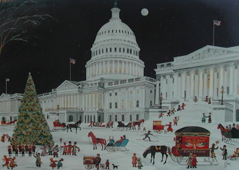 Carol Dyer: Washington D.C. Christmas Cards and Note Cards