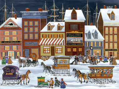 carol dyer baltimore maryland christmas cards and notecards - Christmas In Baltimore